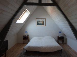 Gite du petit Colombier à Arras : la chambre King Size