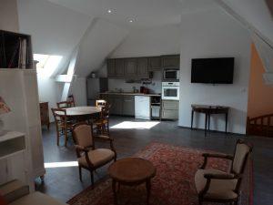 Gite du petit Colombier à Arras : le salon - salle à manger